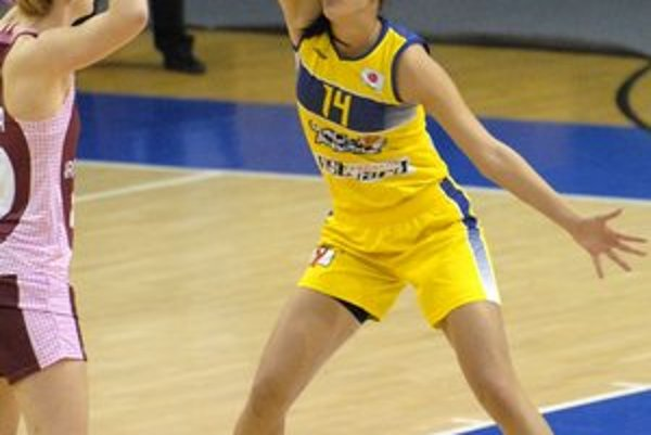 Tijana Krivačevičová. S Arrasom dala 10 bodov.