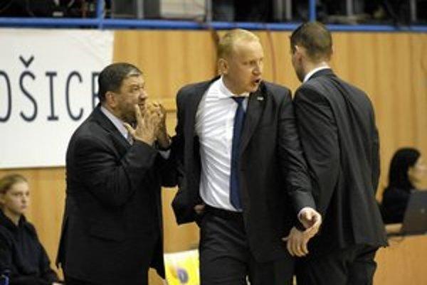 Realizačný tím. Športový riaditeľ Ivan Benninghaus (vľavo) s trénerom Marošom Kováčikom.