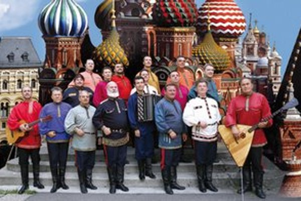 Zbor donských kozákov.