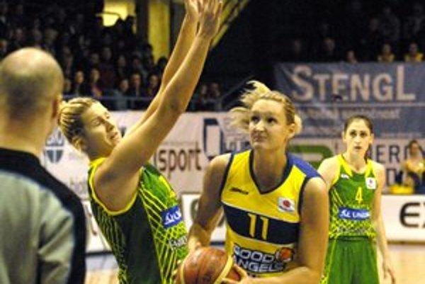 Generálka so Šopronom. Pred finálovým turnajom v Jekaterinburgu sa ešte Košičanky predstavia zajtra v domácom prostredí.