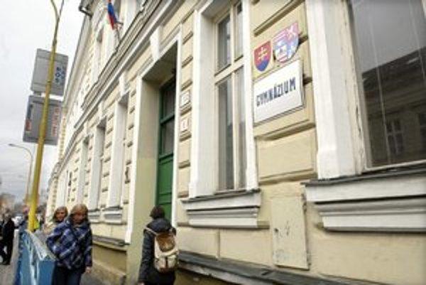 Gymnázium Poštová. Jeho študenti majú takmer stopercentnú úspešnosť na prijímačkách.