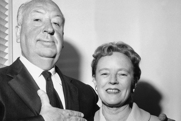Alfred Hitchcock a Alma Reville