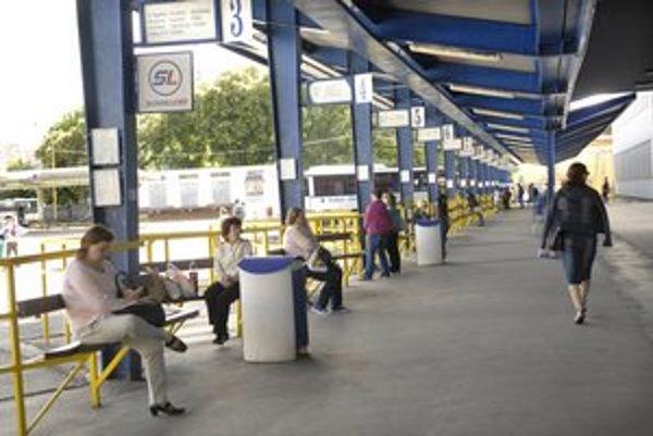 Autobusová stanica v Košiciach.
