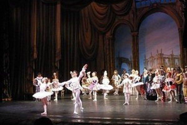 Záber z predstavenia.