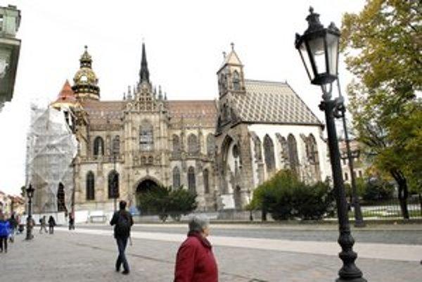 Dóm svätej Alžbety. 5. najväčší projekt - 3,2 milióna eur.