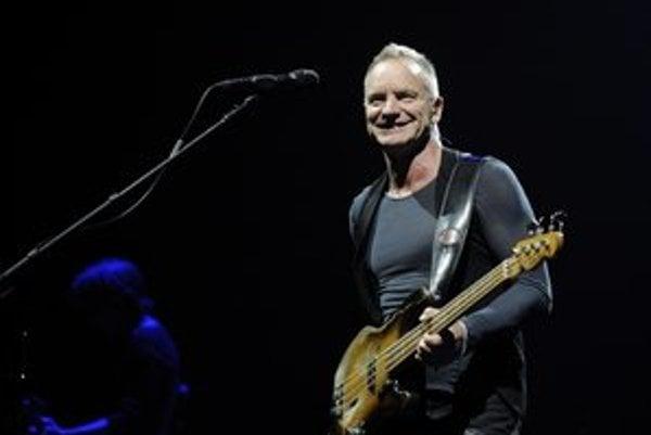 Sting na košickom koncerte v dobrej nálade.