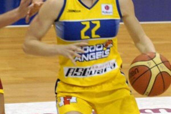 Američanka Quigleyová. V Ružomberku zaznamenala v troch zápasoch spolu 48 bodov.