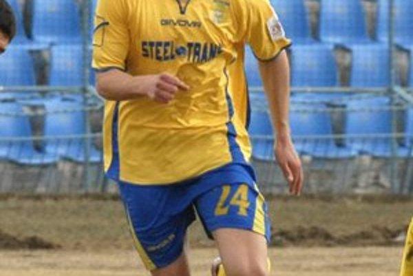 Kamil Karaš. Možno odíde z Čermeľa ako prvý.