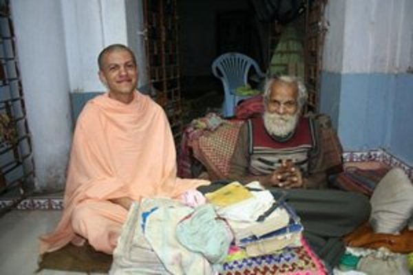 Spomienka na stretnutie s indickým svätcom
