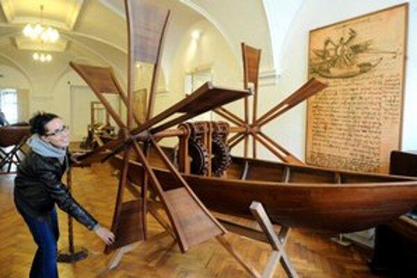 Záujem je značný. Leonardove vynálezy priťahujú ako magnet.