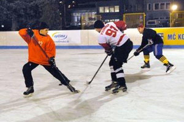 Ľadová plocha. Priaznivci korčuľovania si prídu na svoje.