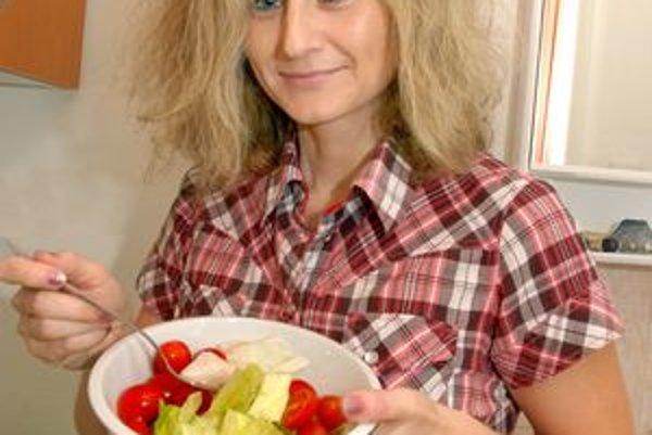L. Knoteková má svoj štýl stravovania