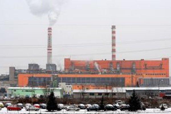 Tepláreň Košice.