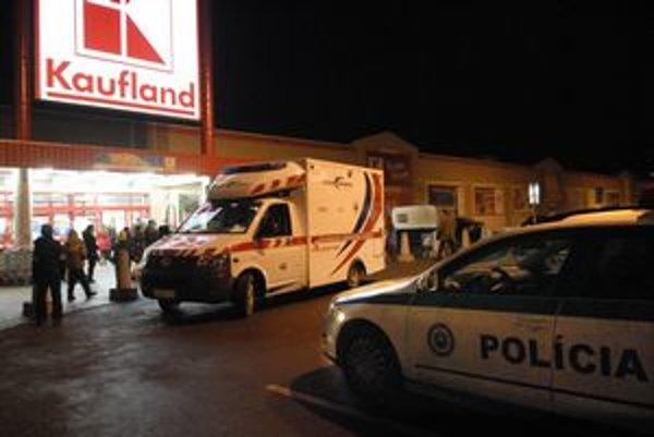V košickom Kauflande na Popradskej došlo k vražde.