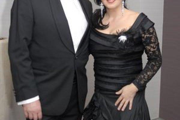 Iveta s manželom Martinom.