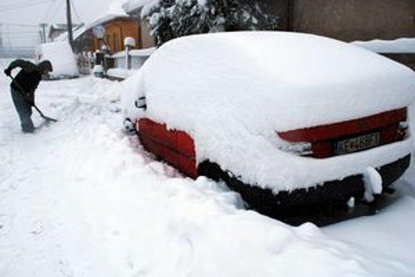 Košice v januári 2010. V najbližších dňoch má síce snežiť, ale Perinbaba bude zrejme skúpejšia ako po minulé roky.