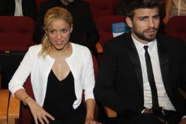 Shakira a jej priateľ Gerard Piqué