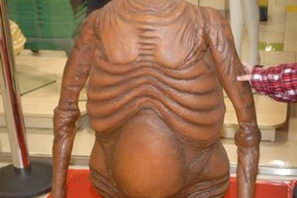 Na výstave v OC Galéria môžete vidieť aj E.T. mimozemšťana.