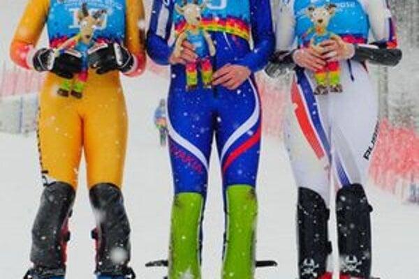 Zjazdárka P. Vlhová vybojovala zlatú medailu.