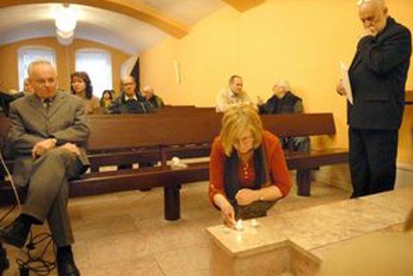 Symbolická spomienka. K celosvetovej akcii sa pridali aj Košice.