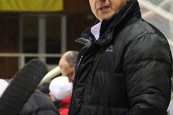 Tréner Banskej Bystrice Milan Staš.