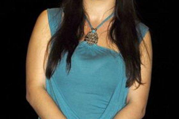 Lucia Bujňáková. Aj talentovaná operná speváčka z Lipian skúšala šťastie.