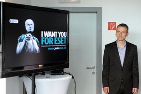 Riaditeľ spoločnosti ESET Richard Marko.