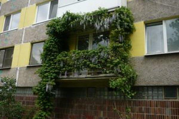 Otvorený balkón. Zlodeji sa neboja vyliezť a kradnúť.