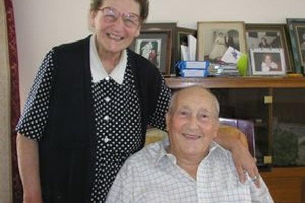 Otto Wasserberg s manželkou.