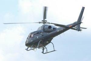 Prevoz vrtuľníkom. Popálený chlapček je v šačianskej nemocnici.