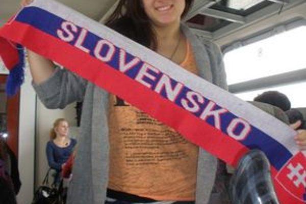 Zo Slovenska si odniesla i tento suvenír.