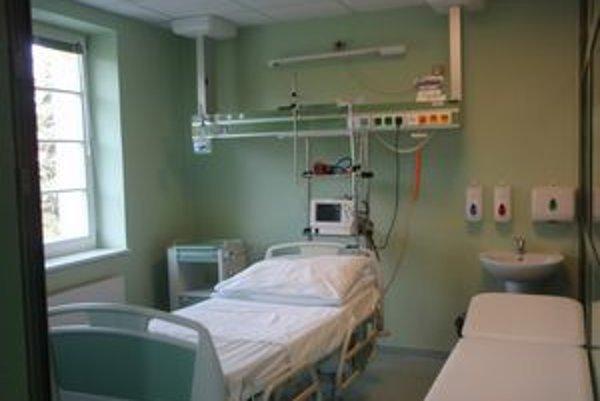 Vynovené izby sú pripravené pre pacientov.