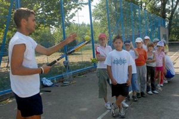 Tenis sa do učebných osnov podarilo zaradiť  už pred tromi rokmi.