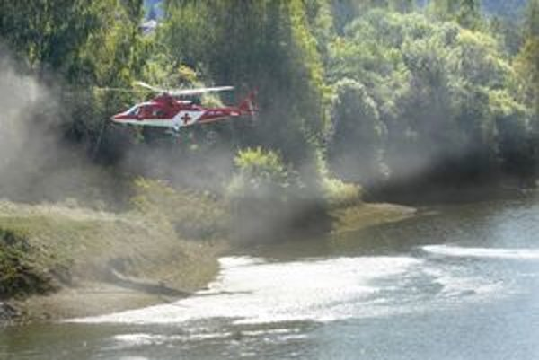 Košická posádka vrtuľníka ihneď transportovala Leu do nemocnice.