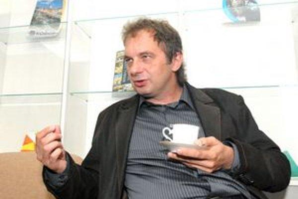 Ján Sudzina. Podľa šéfa tímu Košice 2013 treba ešte doladiť marketing.