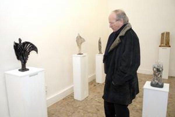 Inšpirácia jaskynnou krásou. Zbigniew Nišponský-Gut ju ponúka v Múzeu Vojtecha Löfflera.