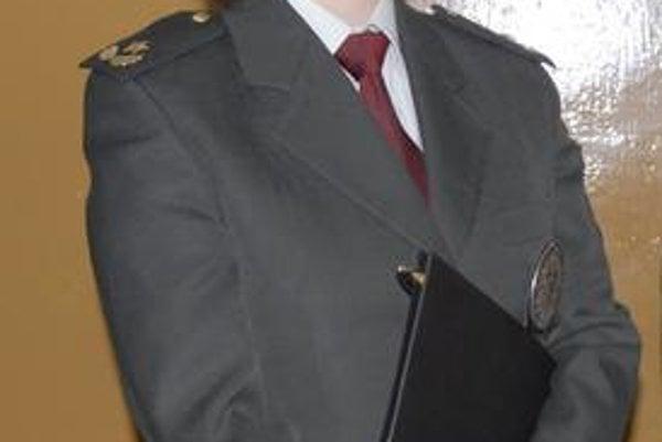 Lucia Vargová. Po 7 rokoch v policajnom zbore sa stala riaditeľkou.