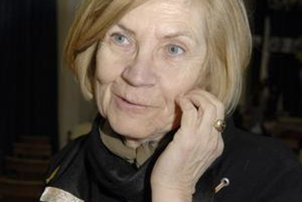 Marta Györiová. S holokaustom má osobnú skúsenosť. Tvrdí, že naň netreba zabúdať.