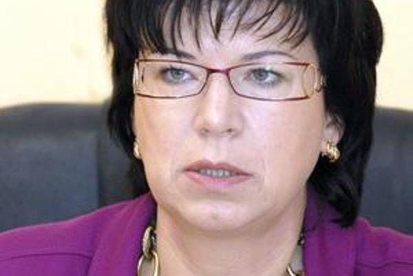 Riaditeľka nemocnice Iveta Marinová musí nájsť riešenie, aby na výstavbu bol dostatok peňazí.