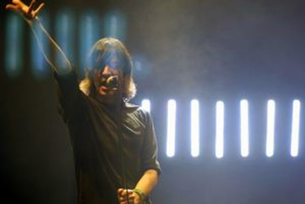 Franz Treichler, frontman švajčiarskej skupiny The Young Gods.