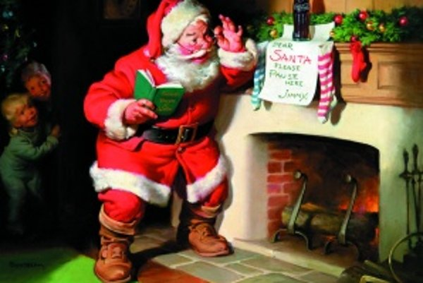 Santa, ako ho poznáme. Žoviálny chlapík v červenom číta vianočné želania detí a propaguje svoju Coca -Colu. Predtým však propagoval aj iné nealkoholické nápoje
