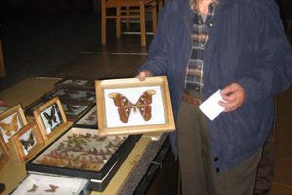 L. Lipták sa venuje motýľom už 80 rokov.