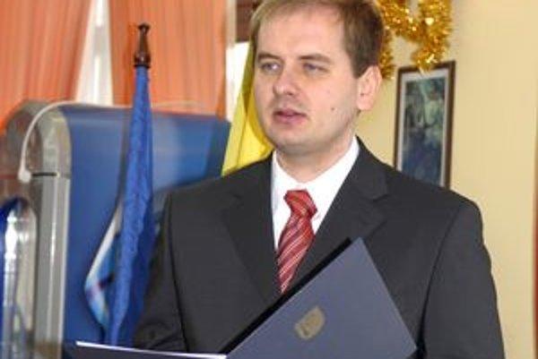 Starosta Vladimír Saxa.