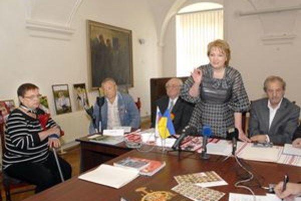 STM Košice. Manželia Rezničenkovci (na snímke vľavo), obete Černobyľa.