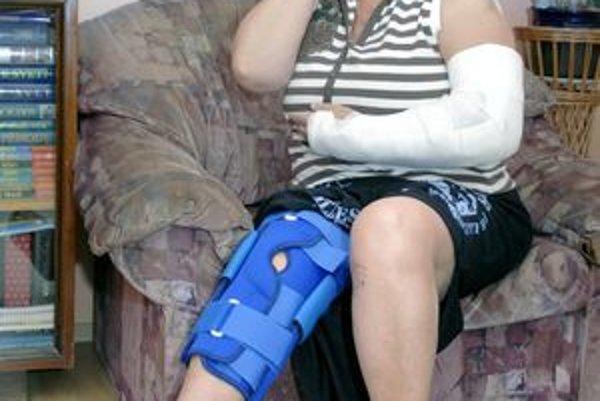 Zranená. Košičanka spadla do šachty. Má zlomenú ruku a poranenú nohu.