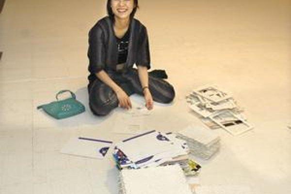 Yumiko Ono. Do Košíc priviezla takmer 260-tisíc dielikov puzzle.