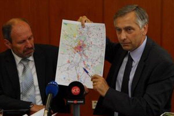 Minister Ján Figeľ s košickým primátorom Františkom Knapíkom.