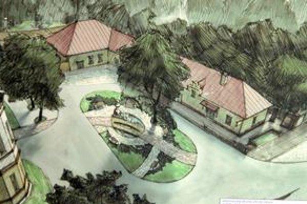 Štúdia modernizácie. Predstavy o budúcej podobe parku v Barci má mestská časť jasné. Chce toho veľa zmeniť.