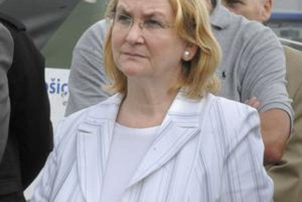 Mária Sabolová (KDH). Naznačuje, že šéfovských výmen v košickom zdravotníctve by mohlo byť viac.