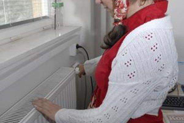 Otvorte ventil. Aby bolo teplo, treba pre to niečo spraviť.